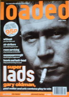 <!--1994-05-->Loaded magazine - Gary Oldman cover (May 1994 - Issue 1)