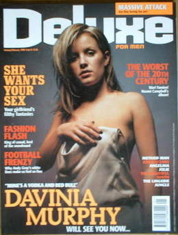 Deluxe magazine - Davinia Murphy cover (January/February 1999 - Issue 8)