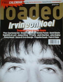 Loaded magazine - Noel Gallagher cover (January 1997)