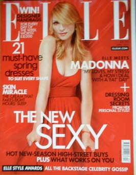 <!--2007-04-->British Elle magazine - April 2007 - Madonna cover