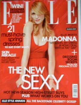 <!--2007-04-->British Elle magazine - April 2007 - Madonna cover