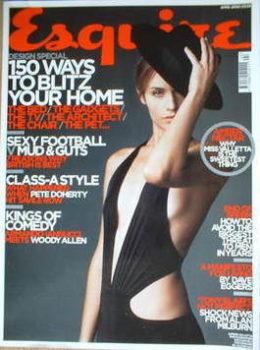 Esquire magazine - Amber Valletta cover (April 2005)