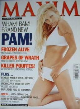MAXIM magazine - Pamela Anderson cover (December 1999)