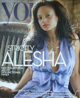 <!--2008-07-20-->You magazine - Alesha Dixon cover (20 July 2008)