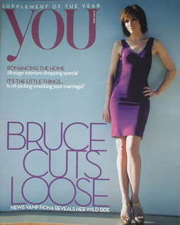 <!--2008-05-18-->You magazine - Fiona Bruce cover (18 May 2008)