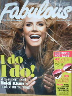 <!--2008-03-30-->Fabulous magazine - Heidi Klum cover (30 March 2008)