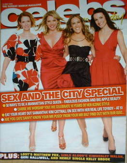 <!--2008-05-18-->Celebs magazine - Sex And The City cover (18 May 2008)