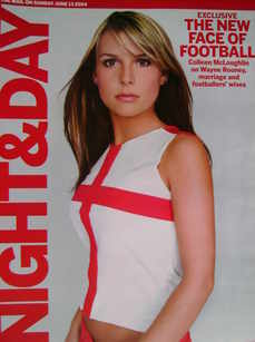 Night & Day magazine - Coleen McLoughlin cover (13 June 2004)