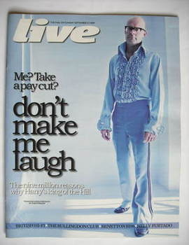 Live magazine - Harry Hill cover (27 September 2009)