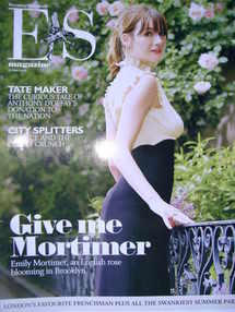 <!--2008-06-27-->Evening Standard magazine - Emily Mortimer cover (27 June