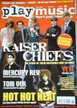 PlayMusic magazine - Kaiser Chiefs cover (May 2005 - Issue 26)