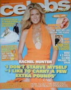 Celebs magazine - Rachel Hunter cover (20 August 2006)