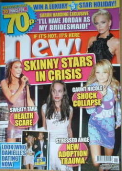 New magazine - 19 March 2007 - Skinny Stars cover
