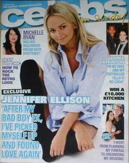 <!--2008-03-02-->Celebs magazine - Jennifer Ellison cover (2 March 2008)