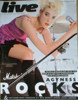<!--2008-07-20-->Live magazine - Agyness Deyn cover (20 July 2008)