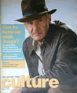Culture magazine - Harrison Ford cover (11 May 2008)