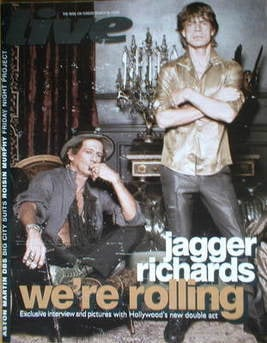 <!--2008-03-16-->Live magazine - The Rolling Stones cover (16 March 2008)