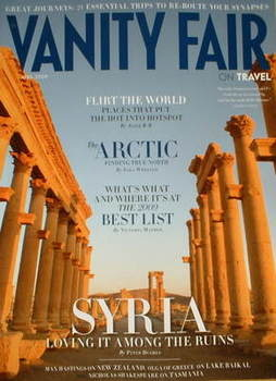 Vanity Fair On Travel magazine supplement (April 2009)