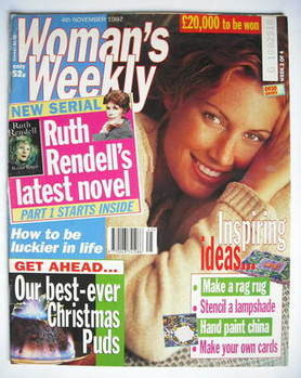 <!--1997-11-04-->Woman's Weekly magazine (4 November 1997)