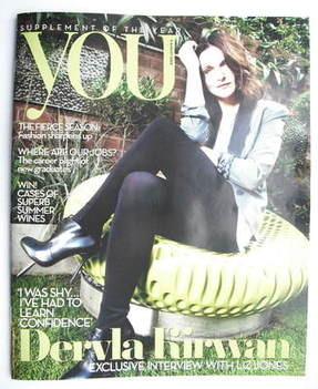 <!--2009-08-09-->You magazine - Dervla Kirwan cover (9 August 2009)
