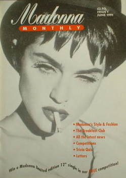 Madonna Monthly magazine - Madonna cover (June 1991 - Issue 1)