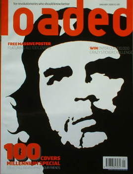 <!--2000-01-->Loaded magazine - Che Guevara cover (January 2000)