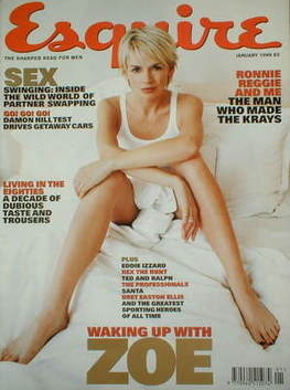 <!--1999-01-->Esquire magazine - Zoe Ball cover (January 1999)