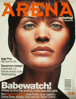 <!--1993-09-->Arena magazine - September/October 1993 - Helena Christensen