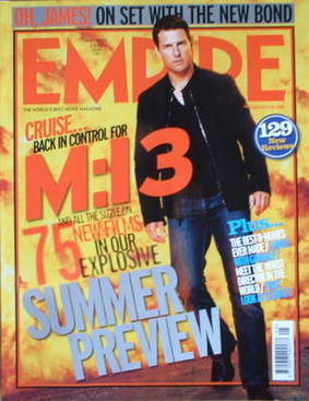<!--2006-05-->Empire magazine - Tom Cruise cover (May 2006 - Issue 203)