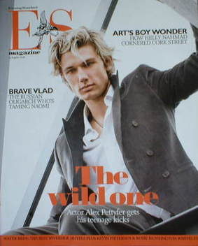 <!--2008-08-15-->Evening Standard magazine - Alex Pettyfer cover (15 August