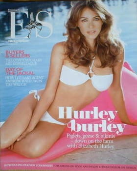 <!--2008-05-23-->Evening Standard magazine - Liz Hurley cover (23 May 2008)