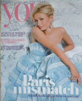 <!--2008-06-29-->You magazine - Paris Hilton cover (29 June 2008)