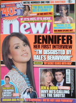 <!--2008-07-14-->New magazine - 14 July 2008 - Jennifer Clark cover