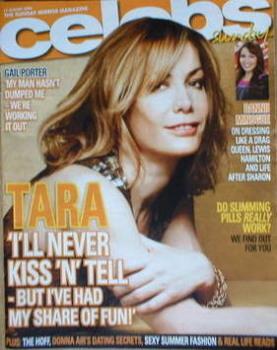 Celebs magazine - Tara Palmer-Tomkinson cover (17 August 2008)