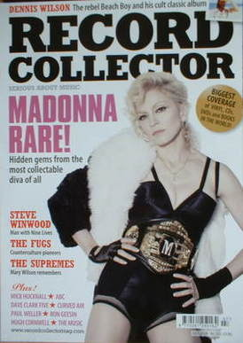Record Collector - Madonna cover (July 2008)