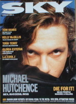 Sky magazine - Michael Hutchence cover (February 1989)