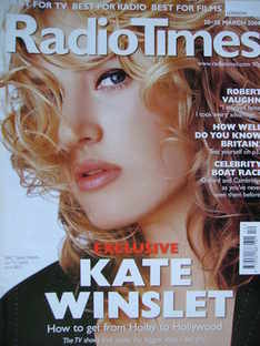 <!--2004-03-20-->Radio Times magazine - Kate Winslet cover (20-26 March 200