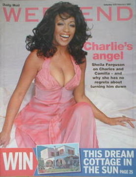 Weekend magazine - Sheila Ferguson cover (26 February 2005)