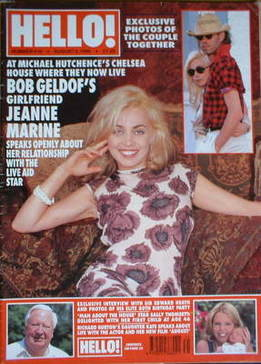 <!--1996-08-03-->Hello! magazine - Jeanne Marine cover (3 August 1996 - Iss