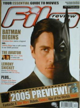 Film Review magazine - Batman cover (January 2005 - Issue 652)