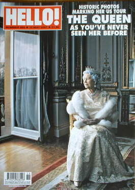 <!--2007-05-15-->Hello! magazine - Queen Elizabeth II cover (15 May 2007 -