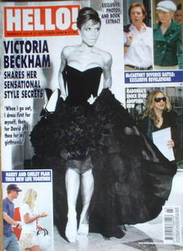 <!--2006-10-31-->Hello! magazine - Victoria Beckham cover (31 October 2006