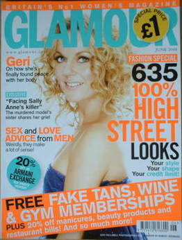 <!--2008-06-->Glamour magazine - Geri Halliwell cover (June 2008)