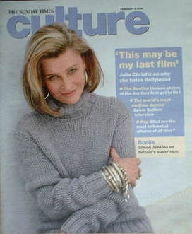 <!--2008-02-03-->Culture magazine - Julie Christie cover (3 February 2008)