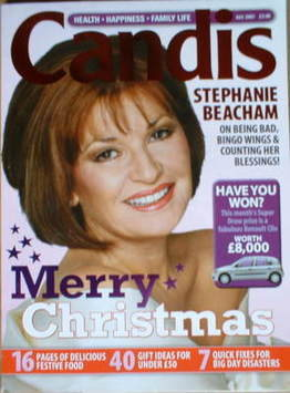 Candis magazine - December 2007 - Stephanie Beacham cover