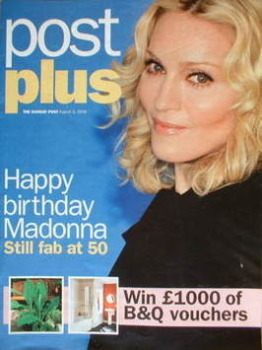 Post Plus magazine - Madonna cover (3 August 2008)