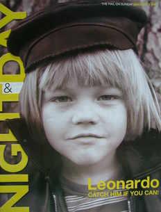 Night & Day magazine - Leonardo DiCaprio cover (5 January 2003)