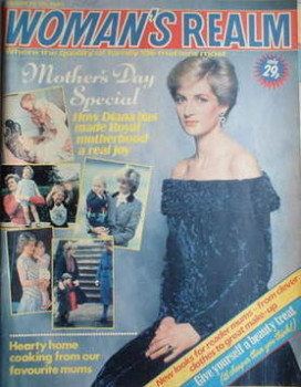 Woman's Realm magazine (28 March 1987 - Princess Diana cover)