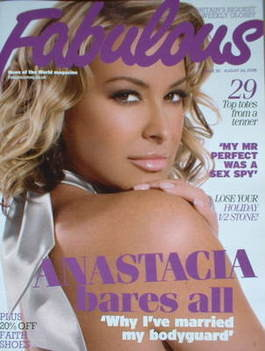 <!--2008-08-24-->Fabulous magazine - Anastacia cover (24 August 2008)