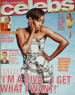 <!--2008-07-13-->Celebs magazine - Estelle cover (13 July 2008)